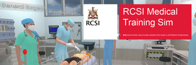 VR, medical, hospital, surgery, RCSI, Immersive, Education