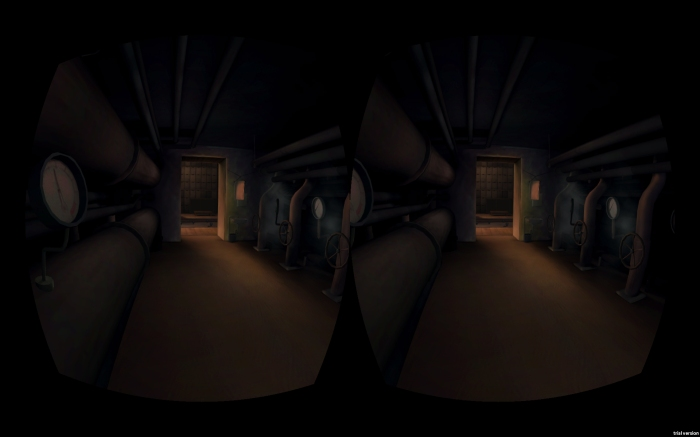 Spirited Away, BoilerRoom for VR - pipes corridor