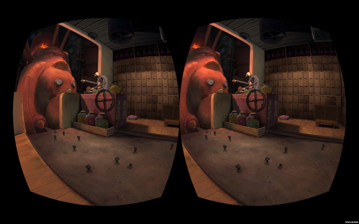 Spirited Away, BoilerRoom for VR - the Boiler Room