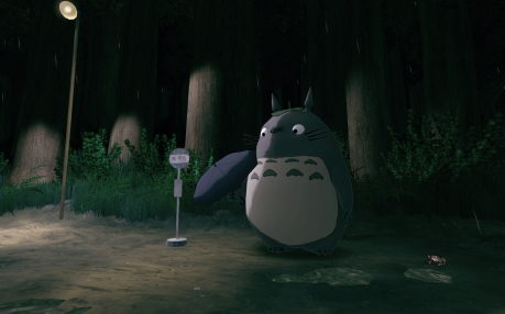 My Neighbour Totoro, VR, Oculus Rift, Bus Stop